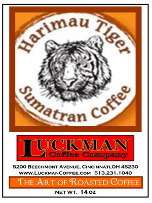 Harimau Tiger Sumatran Coffee